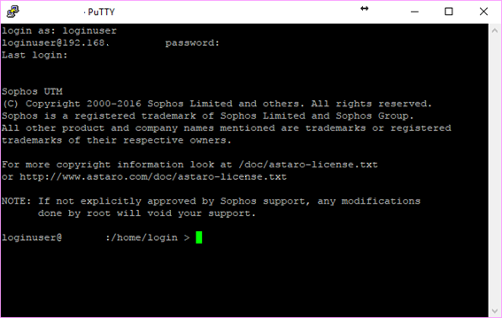 Extract HASH & Logs from Sophos UTM